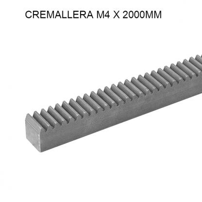 CM420 - Cremallera dentada de acero zincado.